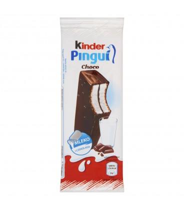 Kinder Pingui Choco Biszkopt z mlecznym nadzieniem pokryty czekoladą 30 g