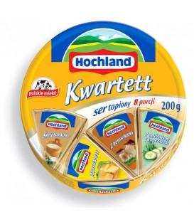 Hochland Kwartett Ser topiony kremowy w trójkącikach 200 g