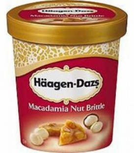 HaagenDazs Macadamia Nut Brittle 500ml lody