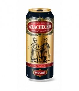 Szlacheckie piwo mocne 7% puszka 500ml