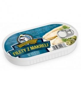 Admirał Franco filety z makreli w oleju 170g