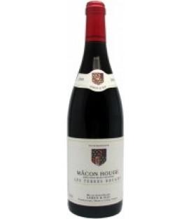 Fra.Bur Les Terres Rouge2009,Macon Rog.700ml wina