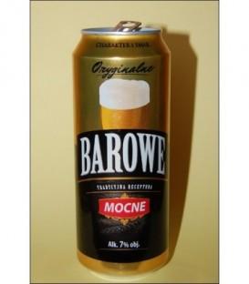 Piwo barowe mocne 7% puszka 0,5L