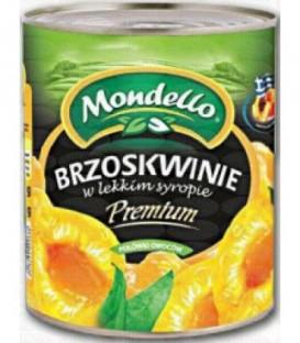 SPS mondello brzoskwinie puszka z otwieraczem 820g