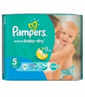 Pampers VPMinus Junior 36szt