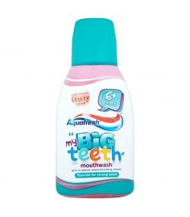 Aquafresh my Big Teeth Płyn do płukania jamy ustnej dla dzieci 300 ml