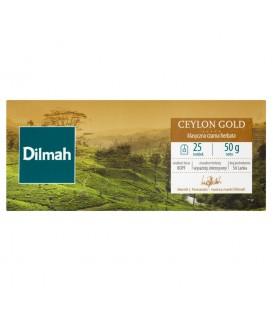 Dilmah Ceylon Gold Herbata czarna klasyczna 50 g (25 torebek)
