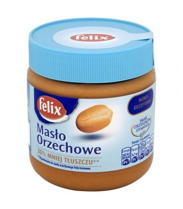 Felix Masło orzechowe 30% mniej tłuszczu 350 g