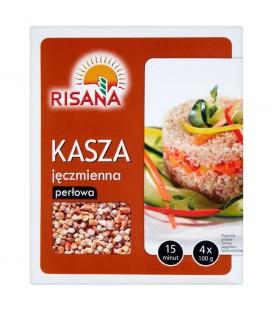 Risana Kasza jęczmienna perłowa 400 g (4 torebki)