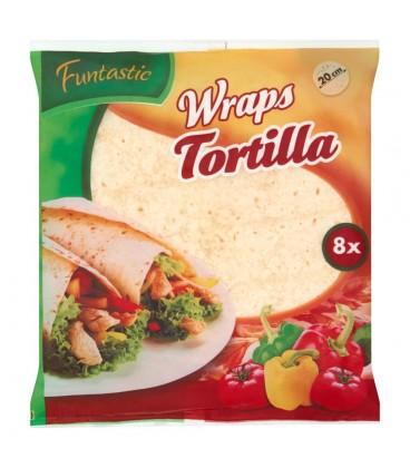 Funtastic Wraps Tortilla 296 g (8 sztuk)
