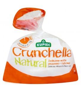 Kupiec Crunchella Natural Delikatne wafle pszenno-ryżowe 56 g