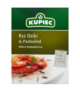 Kupiec Ryż dziki i parboiled 200 g (2 torebki)