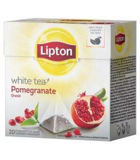LIPTON herbata biala z granatem 20tb