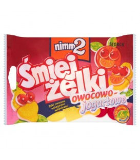 NIMM2 ŚMIEJŻELKI owoc-jogurt 100g