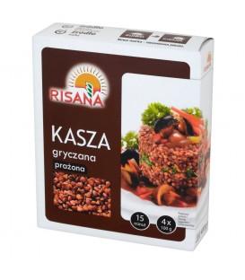 RISANA Kasza gryczana prażona 4x100g 6-pack