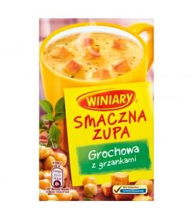 Winiary Smaczna Zupa Grochowa z grzankami 21 g
