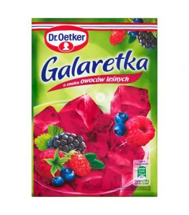 Dr. Oetker Galaretka o smaku owoców leśnych 77 g