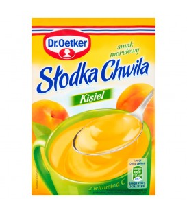 Dr. Oetker Słodka Chwila Kisiel smak morelowy 30 g