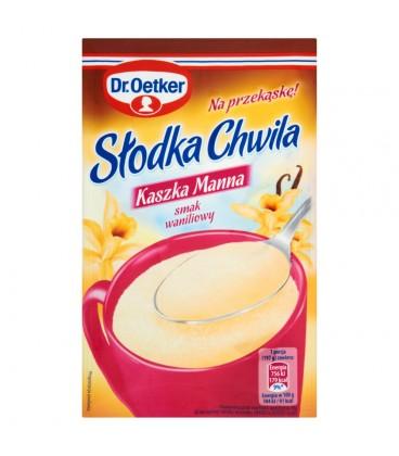 Dr. Oetker Słodka Chwila Kaszka manna smak waniliowy 47,5 g