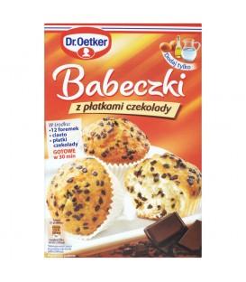Dr. Oetker Babeczki z płatkami czekolady 300 g