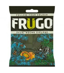 Frugo Żelki mocno zielone 100 g