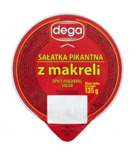 Dega Sałatka pikantna z makreli 135 g