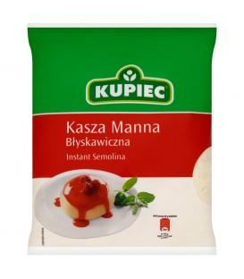 KUPIEC KASZA MANNA BŁYSKAWICZNA 400g