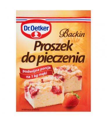 Dr. Oetker Backin Proszek do pieczenia 30 g