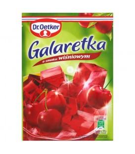 Dr. Oetker Galaretka o smaku wiśniowym 77 g