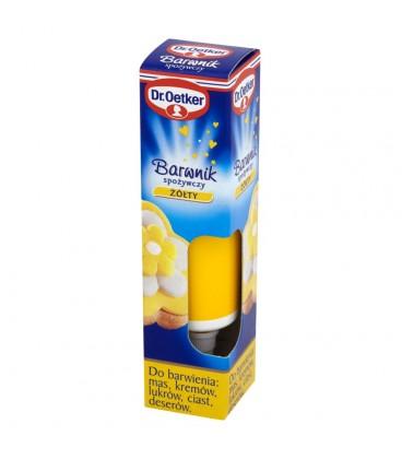Dr. Oetker Barwnik spożywczy żółty 10 g