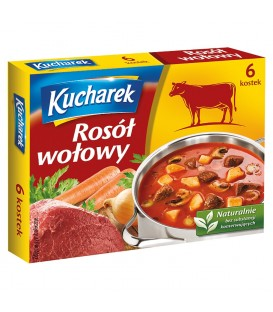 Kucharek Rosół wołowy 60 g (6 kostek)