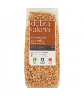 Dobra Kaloria Chrupiąca pszenica z melasą i migdałami 150 g
