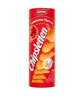 Chipsletten Południowa papryka Chipsy ziemniaczane 100 g