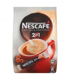 Nescafé 2in1 Coffee & Creamer Rozpuszczalny napój kawowy 200 g (20 saszetek)