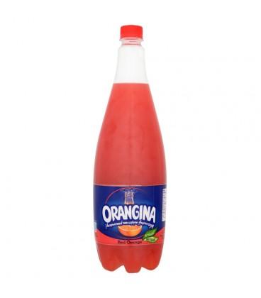 Orangina Red Orange Napój gazowany o smaku czerwonej pomarańczy 1,4 l