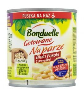 Bonduelle Gotowane na parze Biała fasola Cannellini 175 g