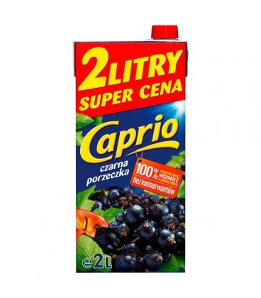 Caprio Czarna porzeczka Napój 2 l