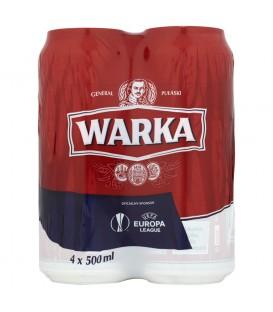 Warka Piwo jasne 4 x 500 ml