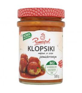 Pamapol Klopsiki mięsne w sosie pomidorowym 500 g