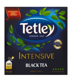 TETLEY INTENSIVE BLACK 100 torebek
