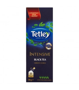 TETLEY INTENSIVE BLACK 25 TOREBEK