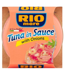 Rio Mare Tuńczyk w sosie z cebulą 160 g