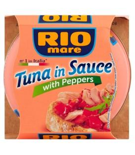 Rio Mare Tuńczyk w sosie z papryką 160 g