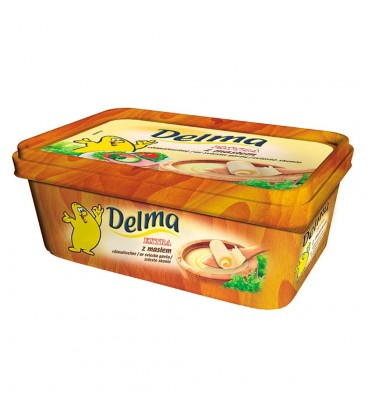 Delma Extra z masłem Margaryna 250 g
