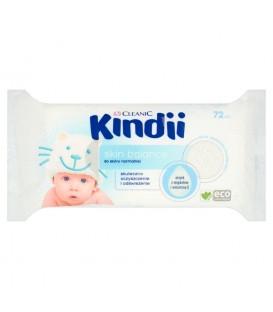 Cleanic Kindii Skin Balance Chusteczki do skóry normalnej 72 sztuki