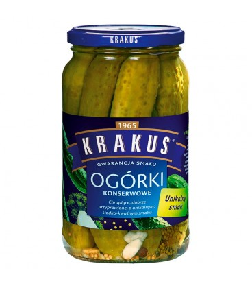 Krakus Ogórki konserwowe 865 g