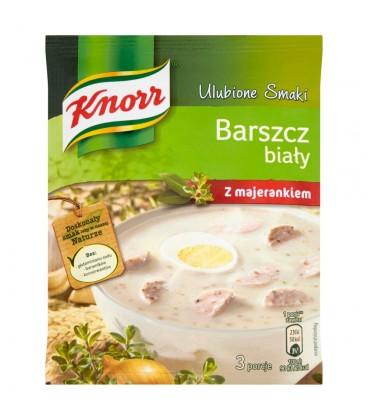 Knorr Ulubione Smaki Barszcz biały z majerankiem 47 g