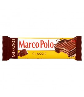 Mieszko Marco Polo Classic Wafelek przekładany kremem kakaowym w czekoladzie 34 g