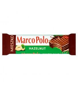 Mieszko Marco Polo Hazelnut Wafelek przekładany kremem orzechowym w czekoladzie mlecznej 34 g