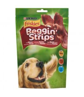 Friskies Beggin' Strips o smaku bekonu Uzupełniająca karma dla dorosłych psów 120 g (7 sztuk)